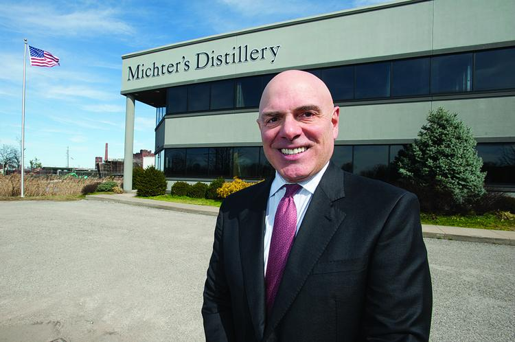 Joe Magliocco, president of Michter's Distillery, is shown at its distillery in Shively.