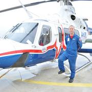 Josh James, flight paramedic at San Antonio AirLIFE, says the combination of a new heliport and trauma bridge at UHS will help the AirLIFE team aid more patients.
