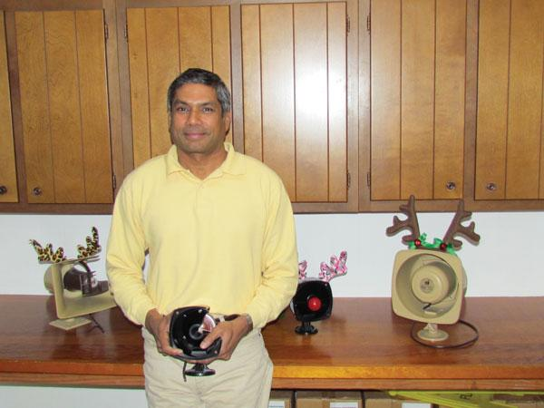 Vernon Fernandes, a native of India, owns Fourjay Industries in Beavercreek.