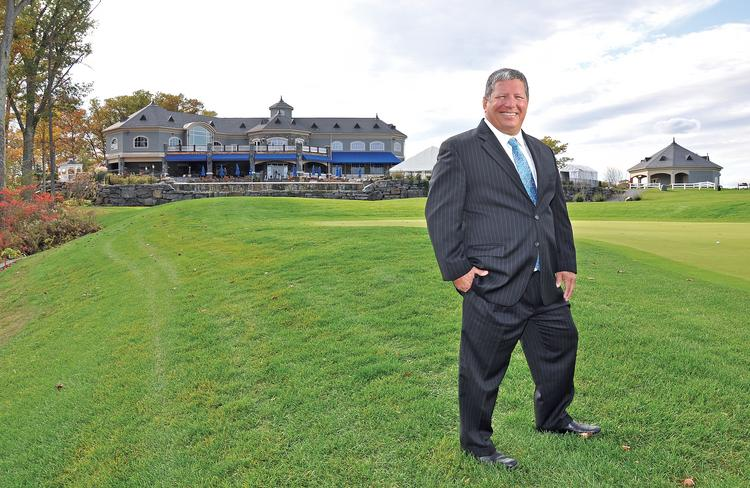 Angelo Mazzone, owner of Mazzone Management Group, pictured here at Saratoga National Golf Club in Saratoga Springs, NY, one of 19 locations where his company operates restaurants or catering.