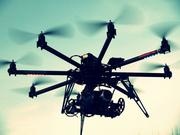 One of CineDrones unmanned aerial vehicles.