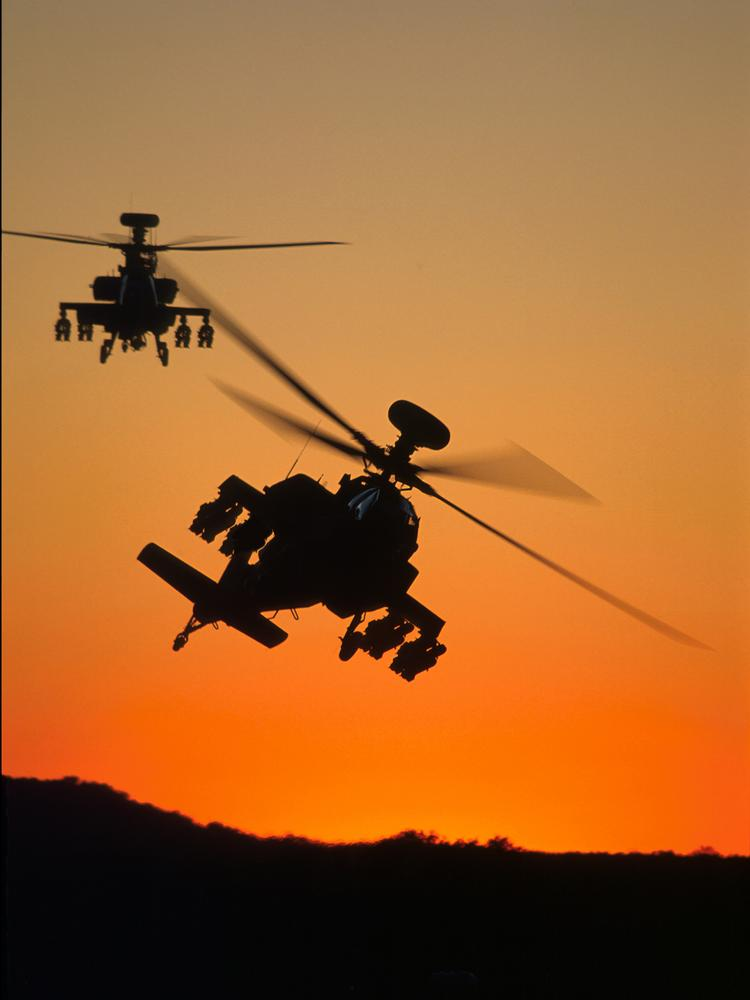 Boeing Co. manufactures Apache helicopters at its Falcon Field plant in Mesa.