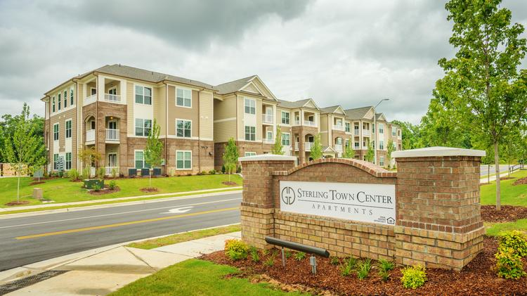 Apartments, like the Sterling Triangle TownCenter apartment community, which opened in May of 2013 with 339 residential rental units, will be in higher demand than single-family units.