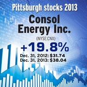 Pittsburgh region stocks and how they fared in 2013.