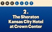 No. 2 The Sheraton Kansas City Hotel at Crown Center Units: 733  Location: Kansas City For more information, check out the 2014 top hotels available to KCBJ subscribers.