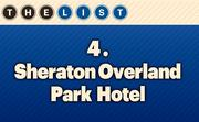No. 4 Sheraton Overland Park Hotel Units: 412  Location: Overland Park For more information, check out the 2014 top hotels available to KCBJ subscribers.