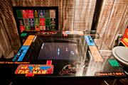 Patrons can enjoy vintage arcade games like this Ms. Pac Man.