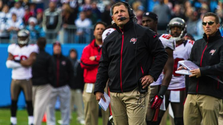 Greg Schiano, the head coach who was fired earlier this week by the Tampa Bay Buccaneers.
