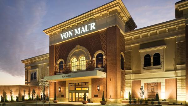 A fashion department store carrying a full line of men's, women's and children's clothing, shoes, accessories and gifts. Von Maur offers an interest-free charge, free gift-wrapping and free delivery.