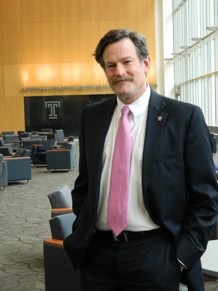 Temple Health System CEO Larry Kaiser
