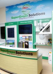Supergreen Solutions offers a franchisable store for eco-friendly products.