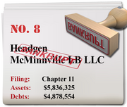 Hendgen McMinnville of McMinnville filed for Chapter 11 on May 30.