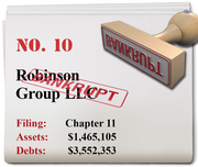 Robinson Group of Bothell, Wash., filed for Chapter 11 on June 24.