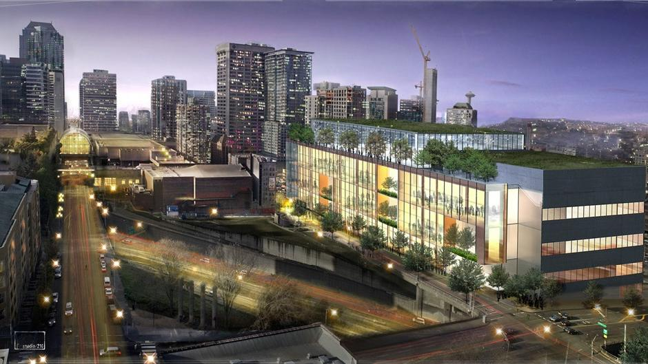 Lmn led team will design 1b seattle convention center for Architect washington state