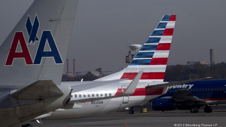 American Airlines gave an update on its merger with US Airways.