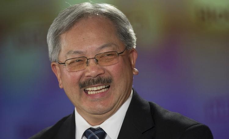 San Francisco Mayor Ed Lee announced a plan to charge employee shuttles that use Muni bus stops.