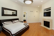 1804 Woodmark Road: One of the four bedrooms.