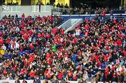 Maryland fans fill the stands at the Military Bowl Dec. 27.