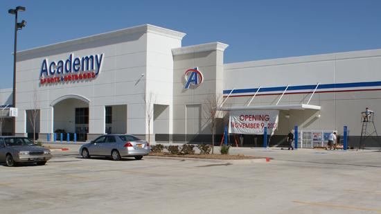 Academy Sports & Outdoors opened its first store in Wichita in November 2012, at 2710 N. Maize Road.
