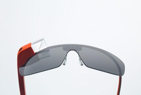Google Glass is a tiny computer attached to a glasses frame that can capture what the wearer is seeing.