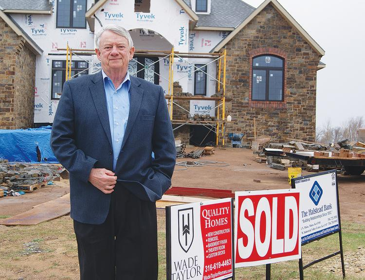 Richard LaMunyon, Maize city manager, says the community's homebuyer incentives have been successful in drawing more builders and homeowners to town.