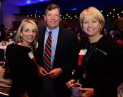 Constance Barkley Lewis with SmartWork Strategy Partners; Kevin Smith with Rollins Inc.; and Carol Godfrey with Southwire.
