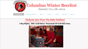 Columbus Winter Beerfest When: 7:30 p.m., Jan. 17-18 Where: Greater Columbus Convention Center Description: A celebration of more than 300 different kinds of craft beer. Cost: Starting at $40