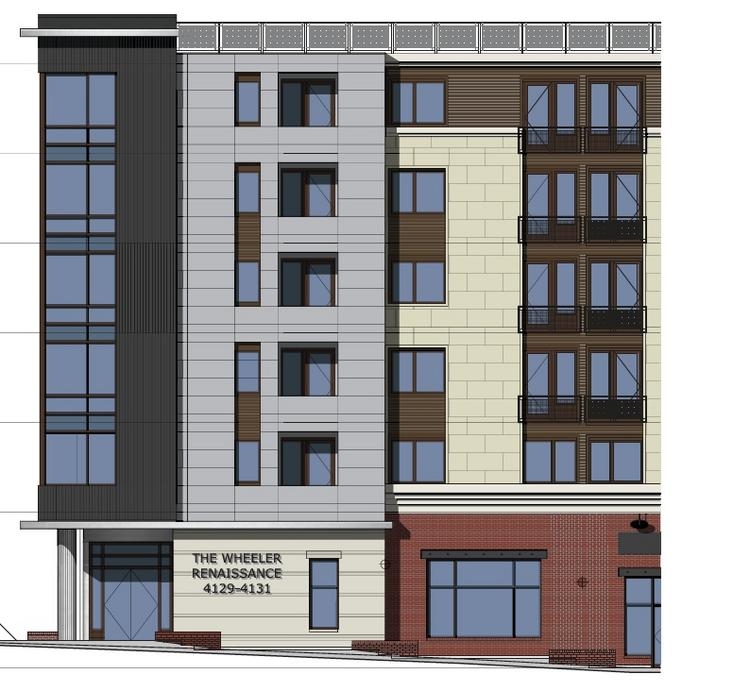 Washington Business Group's Wheeler Renaissance will include 85 residential units and more than 14,000 square feet of retail in D.C.'s Ward 8.