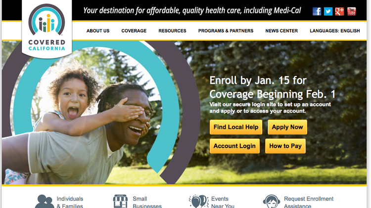 Covered California hit a milestone late Friday of one million people signed up for coverage in the state's new health benefits exchange.