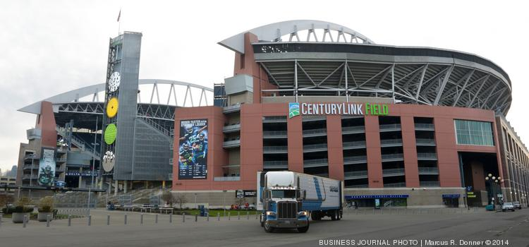 It is legal in Seattle to buy resale tickets on the street to Sunday's NFC Championship game, as long as the transaction does not occur on Seahawks property. Ticket prices shot up from Sunday to Monday, but one expert thinks they'll drop closer to kickoff. Pictured here is CenturyLink Field, where the game against the San Francisco 49ers will be played.