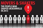 The top movers and shakers in Jacksonville in 2013