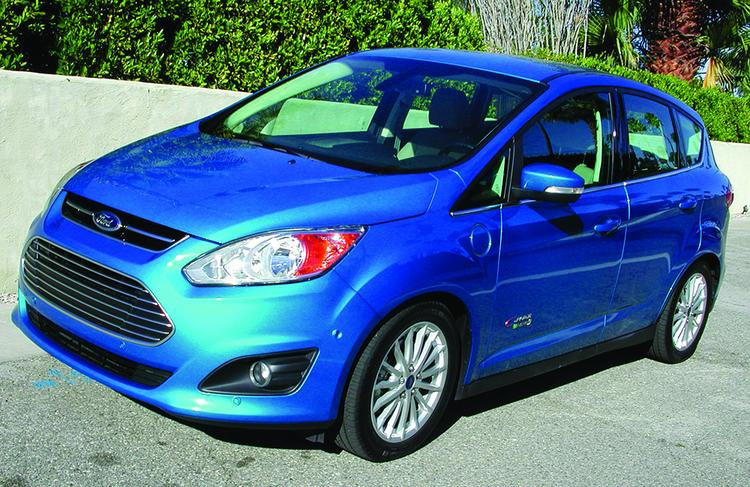 Ford's C-Max Energi sedan has a sticker price of about $33,000.