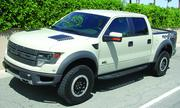 The Ford SVT Raptor has a sticker price of $53,595.
