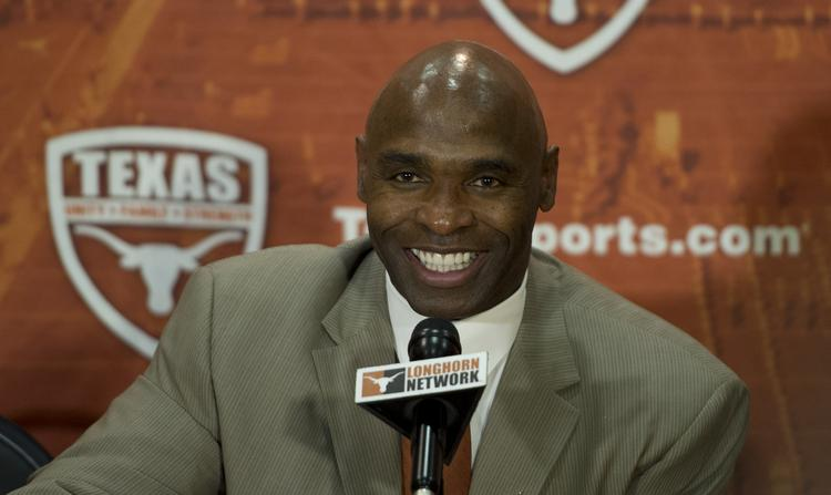 Charlie Strong, head football coach at the University of Texas.