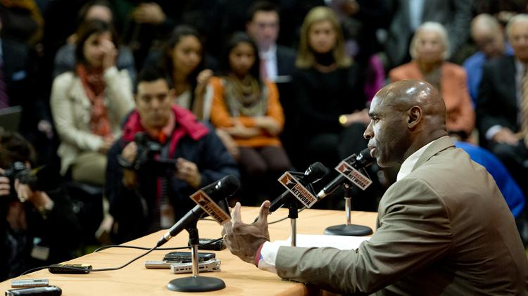 University of Texas football coach Charlie Strong at a Jan. 6 press conference in Austin.