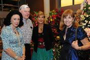 """University of Hawaii Cancer Center board members, from left, Mary Worrall, James Wriston, Dr. Lori Phillips and Penny Rogers at the inaugural """"Trees by the Sea"""" benefit at the center."""