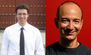 Ezra Klein (left) is poised to leave the Washington Post and Jeff Bezos seems inclined to let him.
