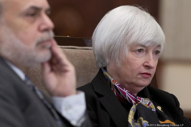Janet Yellen, right, was confirmed by the Senate to succeed Ben Bernanke, left, as chair of the Federal Reserve.