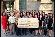 First Hawaiian Bank has contributed more than $2.5 million each year for the past four years to achieve its goal of donating $10 million to charity. In 2013, 98 percent of First Hawaiian Bank employees participated in Kokua Mai, the bank's annual employee giving campaign, contributing a record $633,826 to 36 local community non-profits, the highest amount ever raised through the program.