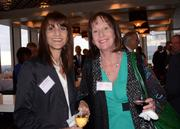 Susan Godorov, general manager and vice president of marketing for Pointe Orlando; and Kathie Canning of Orange County Convention Center
