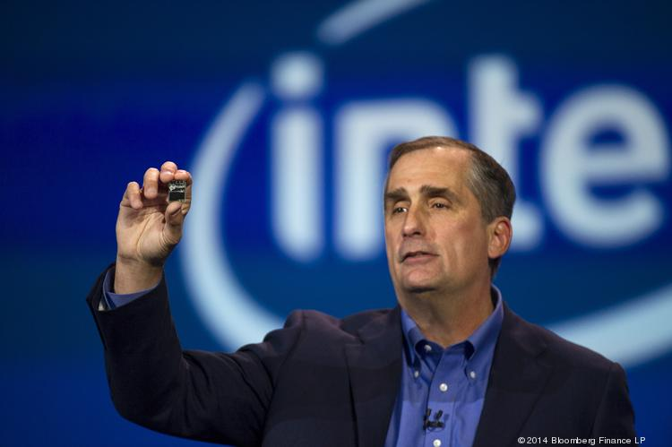 CEO Brian Krzanich says Intel has built a strong foundation by bringing innovation to the market more quickly across a wide range of computing platforms.