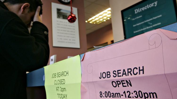 The unemployment rate in Charlotte and North Carolina has been steadily declining in recent months. Is that because more people are finding work -- or because of contractions in the labor force?