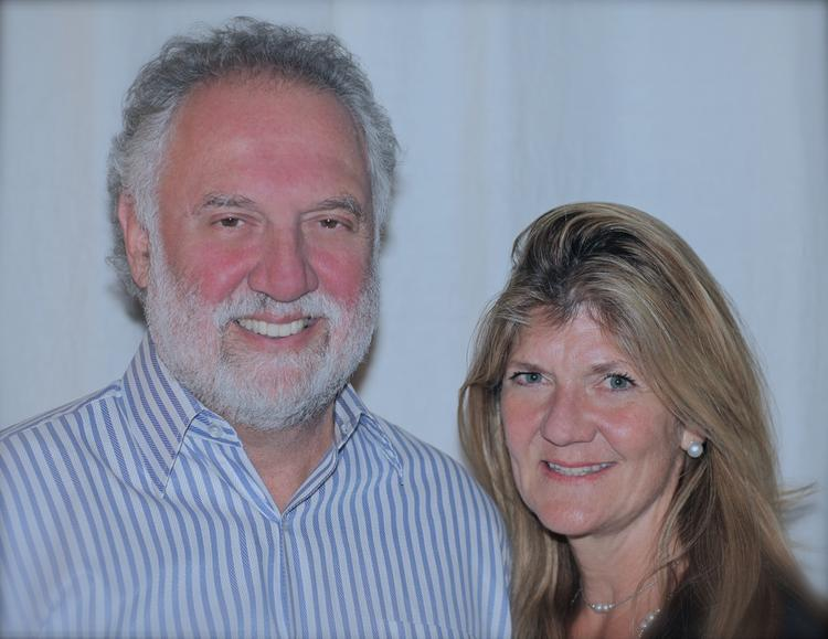 Carol Bailey Medwell, right, seen here with her husband, Dr. Steven Medwell, has created a brochure and website with mediation tools, and will take her brochures to Congress to help people work together better.