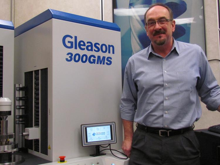 Doug Beerck is vice president and general manager of Gleason Metrology Systems Corp. in West Carrollton.