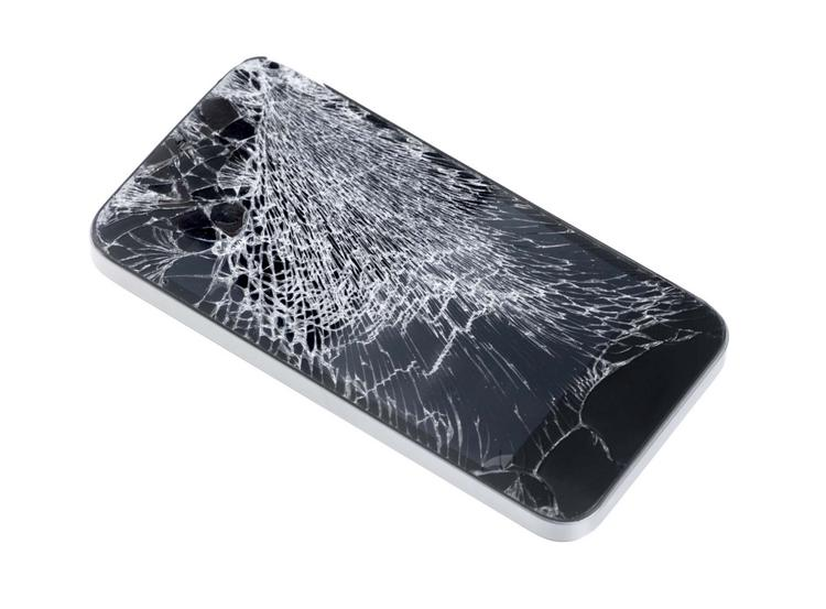 Ridiculously hard gemstones for screens can avoid costly iPhone accidents.
