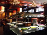 A salad bar is among the features of the $500,000 remodel at Claim Jumper.