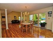 One of the dining areas at Scott Brown's Wrentham home.