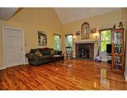Another view of the family room at Scott Brown's former Wrentham home.