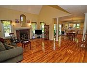 One more view of Scott Brown's family room at his former Wrentham residence.