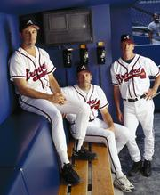 Greg Maddux and Tom Glavine were selected as first-ballot inductees at Cooperstown on Jan. 8.